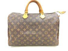 """Auth Louis Vuitton Vintage Monogram Speedy 35 Hand Bag 0G290060n"""""""