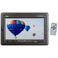 """NEW Tview 7"""" TFT LCD Headrest Monitor with shroud and stand T711HRIR"""