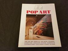 POP ART Booklet ROYAL ACADEMY OF ARTS 1992 UK