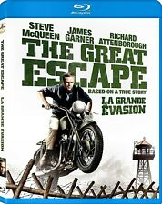 NEW  BLU-RAY - THE GREAT ESCAPE - Steve McQueen, James Garner, Charles Bronson