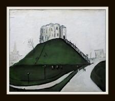 Original Impressionist Oil Painting John Goodlad Northern Art THE CASTLE HILL