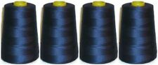 Hilo de coser 120s Hilado poly.overlocking 5000y x 4 Conos azul vaquero