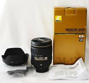 Nikon AF-S NIKKOR 24-120mm f/4G ED VR Lens - New