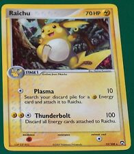 Holo Foil Raichu # 12/108 EX Power Keepers Set Pokemon Trading Cards Rares MINT