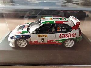 IXO - TOYOTA COROLLA WRC 1998  SAINZ / MOYA     1/43 APROX *NEW*