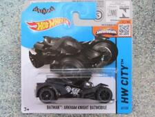 Hot Wheels 2015 #061/250 Batman Arkham Knight Batmóvil HW Ciudad NUEVO Fundición