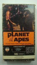 Planet Of The Apes 1979 VHS Cassette Charleton Heston