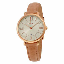 Fossil Jacqueline Leather Ladies Watch ES3487
