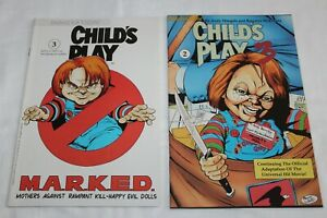 Child's Play #2 and #3 - Innovation Comics 1991 Lot of 2 Books (E46)