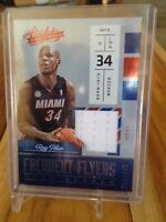 2016-17 PANINI ABSOLUTE RAY ALLEN FREQUENT FLYERS JERSEY /149 HEAT!