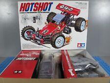 "New Tamiya R/C 1/10 HotShot 4Wd Off Road Buggy Kit 58391 ""no Esc Version"""