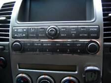 D Nissan Navara D40 Pathfinder Chrom Rahmen für Radio/CD Bedienteil - Edelstahl