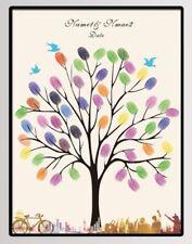 Tableau à empreintes pour les mariages, anniversaires, baptêmes...