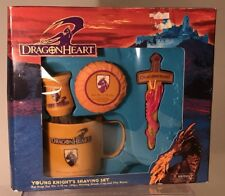 Vintage Dragonheart Movie Young Knights Shaving Set Rare New Pretend Play Kit
