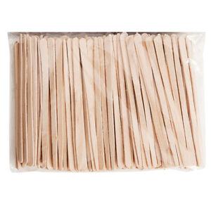Eyebrow Spatulas Waxing Hair Small Precise Wooden (200 Spatulas) Professional