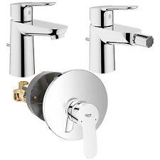 Grohe Start Edge rubinetteria completa da bagno lavabo bidet e doccia da incasso