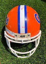 2000 Robert Gillespie Florida Gators Game-Worn Used Football Helmet (NFL Player)