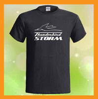 TRIUMPH THUNDERBIRD STORM Logo NEW Men's Black T-Shirt S M L XL 2XL 3XL