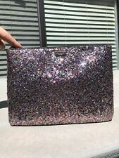Kate Spade New York Glitterball Gia Clutch Pink/Multi Polka Dot Lined