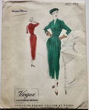 40s vintage COUTURE DESIGN Vogue Couturier Paris style day occasion New Look