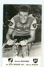 Bernard BEAUFRERE, Coureur Cycliste, cyclisme. Peugeot BP