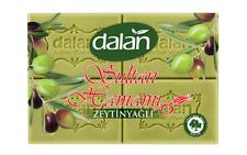 Luxury Turkish Sultan Hamam Olive Oil Soap Bar, Dalan, BULK, Pack of 4, 800g