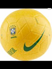 Nike Brazil Brasil 2019 -2020 Prestige Soccer Ball Yellow Brand New Size 5