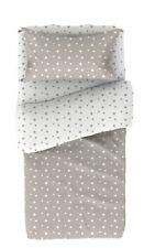 Juego cama infantil estrellas reversible funda nordica almohada bajera 90x190