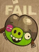 NWT Angry Birds Fail T-shirt Size L