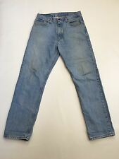 Men's Levi 521 'Straight' Jeans - W34 L32 - Faded Navy Wash - Great Condition