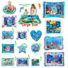 Baby Water Play Mat Inflatable For Infants Toddlers Fun Tummy Time Sea World Kit