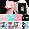 Hot Squishy Phone Case 3D Soft Silicone Bear TPU Cute Cover iPhone X Galaxy S9