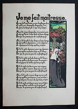1905 Ancienne France Québec Canada Chansons Uzanne Bibliophilie 150 ex. Rare EO
