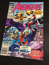 Avengers #316 Spider-Man Joins Avengers - Nebula Appearance VF/NM!