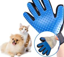 TRUE TOUCH RIGHT HAND BRUSH GLOVE PET DOG CAT MASSAGE GROOMING HAIR REMOVAL