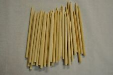 "100 Candy Apple Sticks Wood Skewers Corn Dog Pointed Sticks 5.5"" x 1/4 CDS55P"