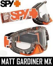 Spy Optics Antena Motocross MX GOGGLES REAL Árbol Camuflaje Naranja ENDURO MOTO