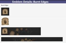 Destiny 2 Emblem: Burnt Edges, Fast Delivery!