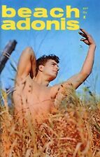 """BEACH ADONIS  MAG COVER PHOTO*  8X10"""" COLOR GLOSSY* EXCELLENT FOR FRAMING *"""