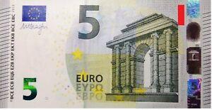 BILLET  EURO     5  EURO   NEUF    GRECE        !!!!      999666     ASSEZ  RARE