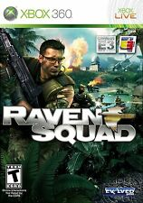 XBOX 360 Raven Squad Video Game online multiplayer rts fps shooter DISC ONLY