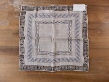 BRUNELLO CUCINELLI beige linen cotton mix pocket square authentic - NWT