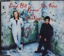 DARYL HALL JOHN OATES - ROMEO IS BLEEDING - CD SINGLE MAXI JEWEL CASE 4T 1998