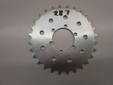 MOTORIZED BICYCLE SPROCKET 28T WORKS WITH MAG WHEELS AND NINE HOLE REGULAR HUB