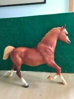 "Breyer Traditional  Horse ""Sugar"" Red Sorrel Running Mare #1176"