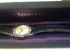 Women's TIFFANY & Co. Atlas 925 Sterling Silver Quartz Watch. 24mm Silver Dial.