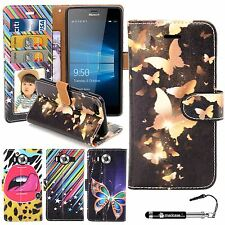 Madcase Design Diary Book Leather Wallet Case Cover for Microsoft Lumia 950