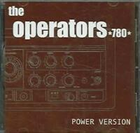 THE OPERATORS 780 - POWER VERSION [EP] NEW CD