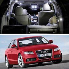 Error Free LED White Light Interior Bulbs Package Deal for Audi A4 2008-2015 B8