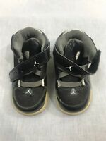 Little Boys Size 7c Black and Grey Used Jordans AS IS Sneakers movie prop play